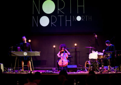 Astrid North und Band